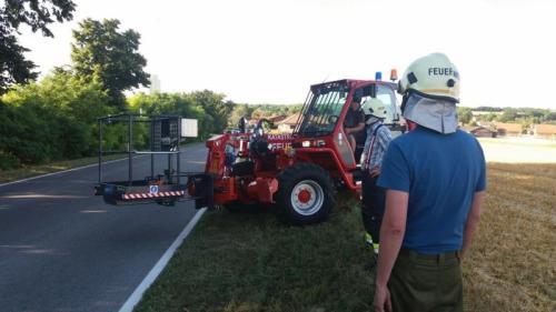 2016-07-06 Grünschnittarbeiten in Waidendorf