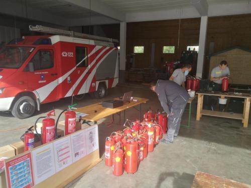 2020-10-09 Feuerlöscherüberprüfung